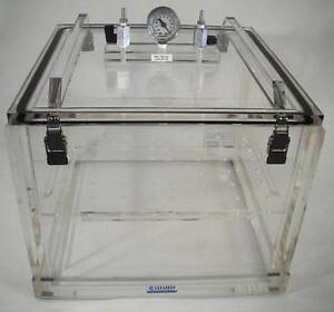 Beautiful Image Is Loading Vacuum Desiccator Cabinet Acrylic W Shelf Amp Vacuum