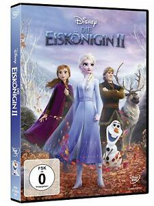 La regina-parte: 2-Frozen 2 (Walt Disney 2019) [DVD/Nuovo/Scatola Originale] ELSA e ANNA