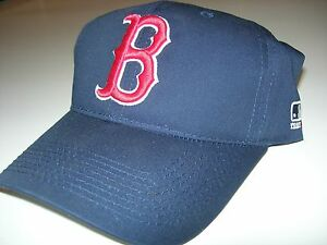 baecec751c3 Boston Red Sox MLB Replica Adjustable Pre Curved Baseball Cap Youth ...