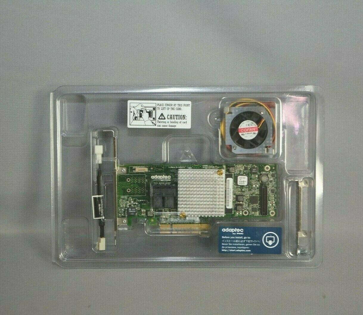Adaptec RAID 8805 12 Gbps PCIe 3.0 x8 Gen3 SAS/SATA Controller Card Adapter New