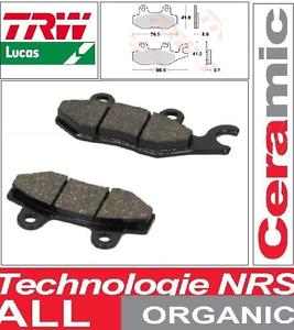 2-Plaquettes-frein-Arriere-TRW-MCB604-Organic-Triumph-1050-Tiger-SE-10-12