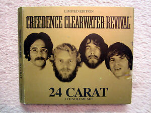 3-CD-CREEDENCE-CLEARWATER-REVIVAL-LIMITED-EDITION-24-CARAT-RARITAT