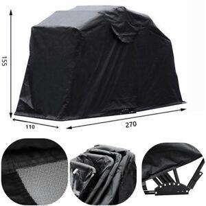 Image is loading Large-Motorbike-Bike-Shelter-Cover-Outdoor-Shed-Garage-  sc 1 st  eBay & Large Motorbike Bike Shelter Cover Outdoor Shed Garage Moped ...