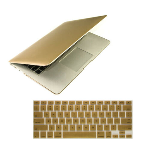 """Rubberized Hard Shell Case Cover Keyboard MacBook Pro 13//15 Air 11//13 Retina 13/"""""""