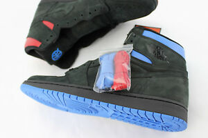 huge discount f6b3d 7b169 Image is loading Air-Jordan-1-Retro-Promo-Sample-Q54-Black-