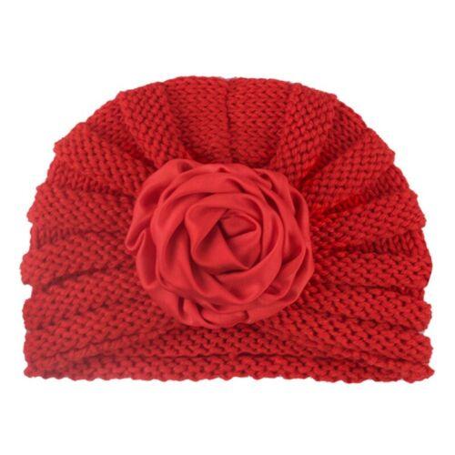 Baby Girl  Boy Knitted Turban Pom Hat Winter Warm Beanie Headwear Caps