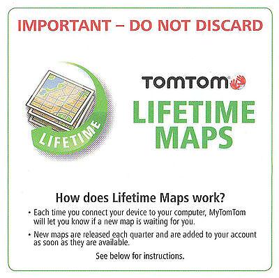 Garmin Canada Lifetime Map Update Tomtom NEW TomTom USA/Canada LIFETIME MAP Update CODE Card VIA 1435 1535