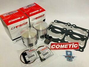 Details about Banshee 68mm 421 Cub Cometic Wiseco Pro Lite Pistons Gasket  Bearings Top End