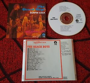 THE-BEACH-BOYS-Surfin-039-USA-Greatest-Hits-RARE-1990-JAPAN-CD