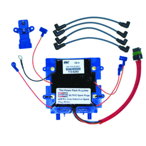 Johnson Evinrude 80-90-100-105-115 Power Pack-Sensor-Spark Wire 586015 586292 MD