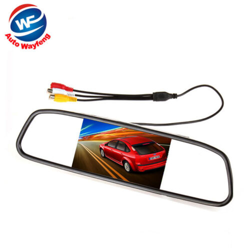 Color TFT LCD 4.3 inch Car Rear View Mirror Monitor for Car Rear View Camera