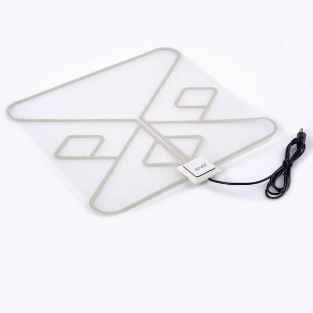 LAVA SquareLeaf Indoor HDTV Antenna Color White 35 Miles Of Frequency Range. Available Now for 29.95