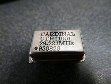 100 Pcs 28224mhz Crystal Clock Oscillator 10 Meter Qrp Beacon Amateur Radio