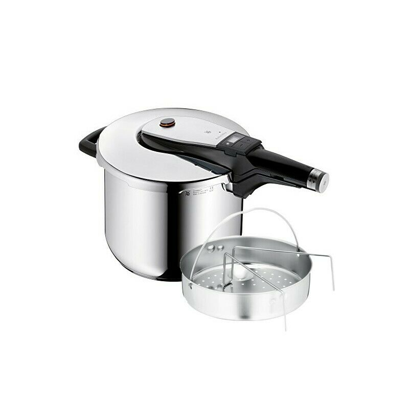WMF Pentola a Pressione 6,5 L Perfect Ultra con cestello interno  07-9613-6040