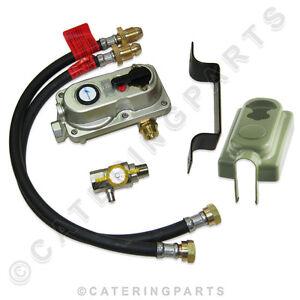 2-BOTTLE-CONNECTOR-AUTO-CHANGE-OVER-LP-LPG-PROPANE-GAS-REGULATOR-PROPANE-HOSES
