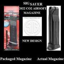 Sig Sauer Co2 Airsoft Metal Pistol Magazine Fixed Slide Fits Sp2022 Pistols