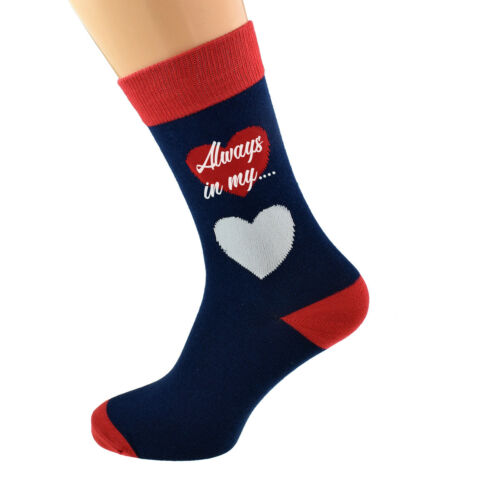 Always dans Mon Cœur Romantique Unisexe Coton Chaussettes X6S242-006
