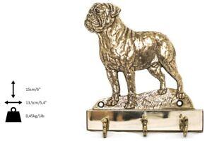 Bullmastiff - Cintre En Laiton Avec Un Chien, Haute Qualité, Art Dog Fr