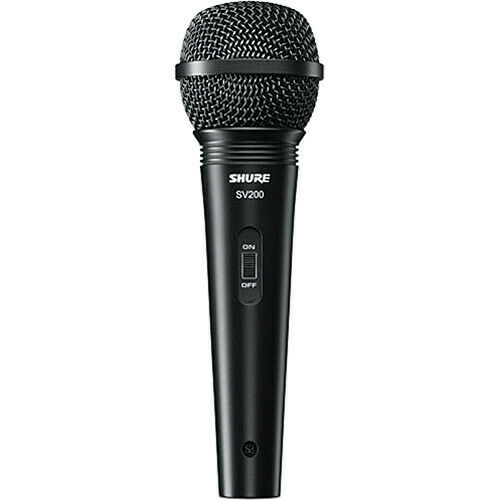 Shure SV200-W Cardioid Dynamic Microphone with Cable