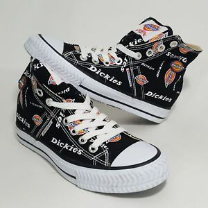 eae3e05dc13 Details about Dickies High Top Canvas Sneakers Shoes Mens 7