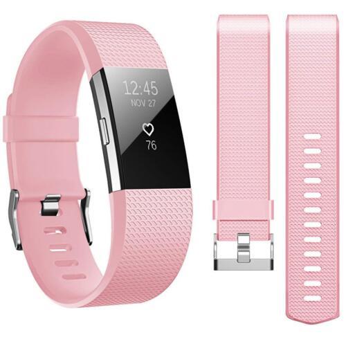6x Folie Fitbit Charge 2 Armband Ersatz Silikon Band Uhrenarmband Fitness