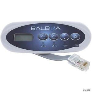 Balboa Hot Tub >> Balboa Vl200 Small 4 Button Spa Hot Tub Control Panel Keypad 52312