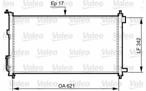 Mister Auto Autoteile VALEO Klimakondensator für NISSAN MICRA 817836