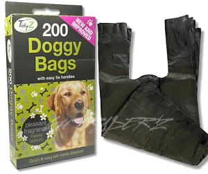 DOGGY-BAGS-Scented-Pet-Pooper-Scooper-Bag-Dog-Cat-Poo-Waste-Toilet-Poop-UK-SELER