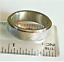 thumbnail 4 - Men's  Stainless Steel Biker Band Ring Sizes 8 10.5 11.5 12.5 Industrial