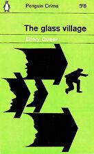 Ellery Queen - The Glass Village 1963 Penguin Crime