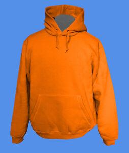 Hoody-Kapuzenpullover-B-amp-C-Rohware-unbedruckt-blanko-move2be-orange-M-XXL