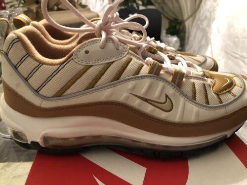 Size 8 Nike Air Max 98 Phantom Beach Wheat Women R