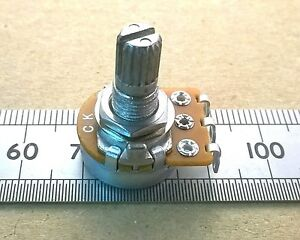 Solder-Lug-16mm-Reverse-Logarithmic-Potentiometer-Mono-Anti-Log-C-Audio-Pot