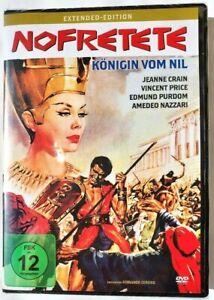 Nefertiti-Regina del Nilo-Extended [DVD/Nuovo/Scatola Originale] Vincent Price, Jeanne Crain