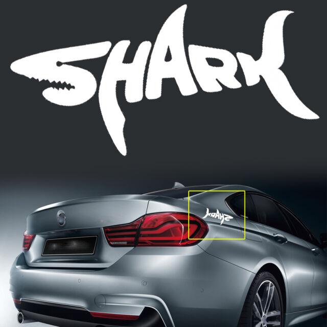Sticker Decal Macbook Car Airplane Aircraft Airport Shark Plane