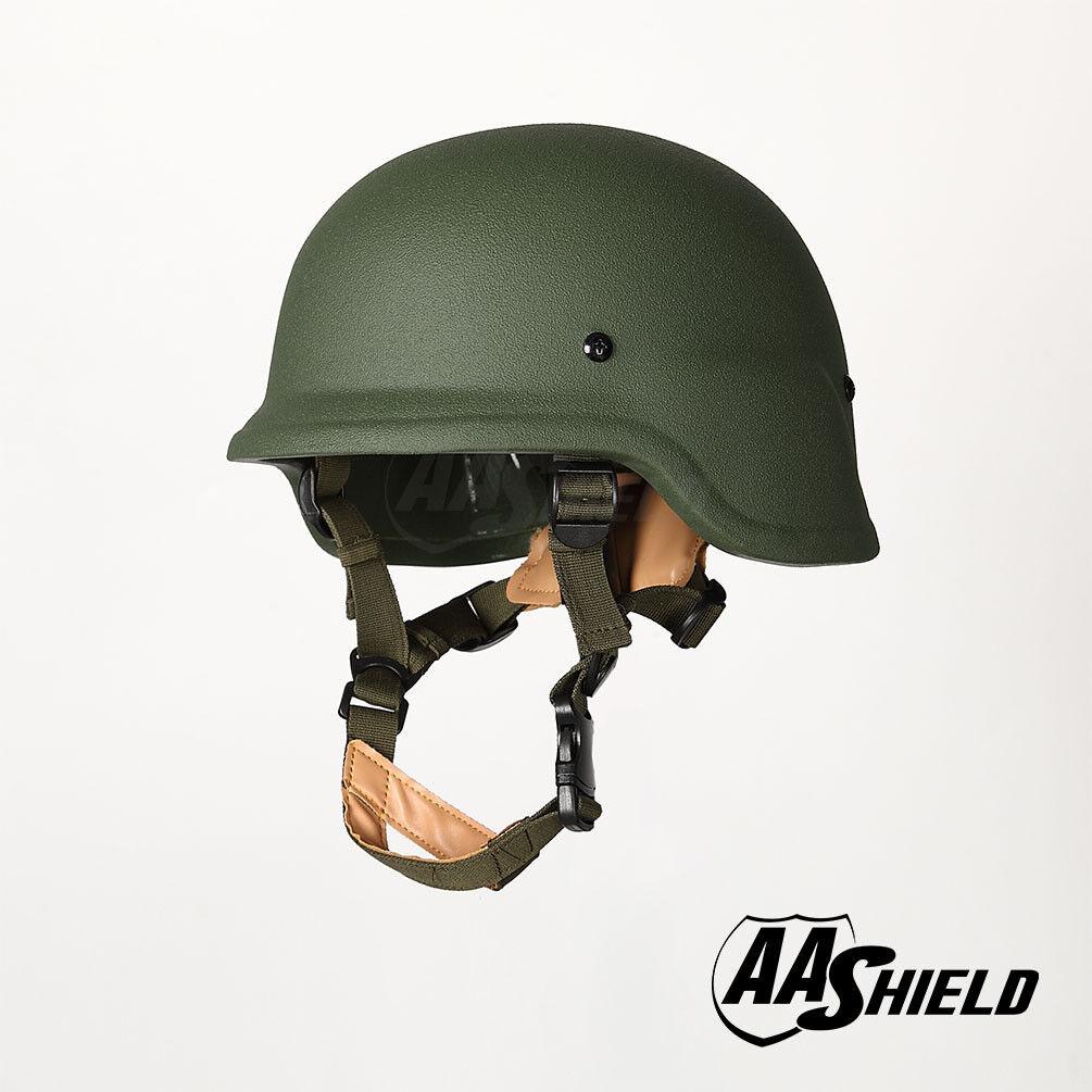 AA Shield Bulletproof PASGT M88 Military Tactical Helmet Aramid Armor IIIA OD