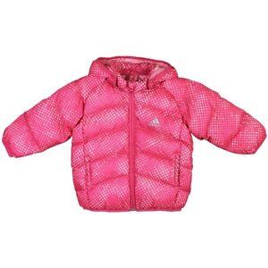 Adidas I J SDP Infant Jacket baby down jacket pink winter jacket ... 79f5ca654