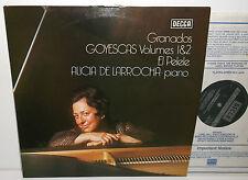 SXL 6785 Granados Goyescas Vols 1 & 2 El Pelele Alicia De Larrocha