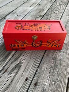 1996 Jose Cuervo Reserva de La Familia Tequila Box Original Manuel Velazquez 749