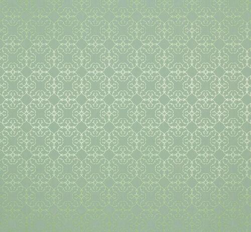 4,08€//1qm Vliestapete Design Muster grün glitzer Tapete Marburg Estelle 55701