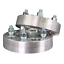 """5x112 to 5x115 US Billet Wheel Adapters 1.5/"""" Thick 14x1.5 Lug Studs 66.6 Bore x4"""
