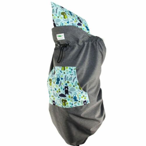 Rücken Buzzidil Schlechtwetter-Tragecover mit Hoodie für Babytrage Bauch