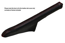 RED STITCH LEATHER HANDBRAKE GAITER FITS FORD ESCORT MK3 MK4 XR3I RS TURBO