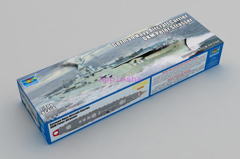 Trumpeter 06710 1 700 German Navy Aircraft Carrier DKM Peter Strasser
