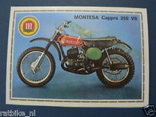 SMP079- MONTESA CAPPRA 250 VR MOTO PICTURE STAMP ALBUM CARD,ALBUM PLAATJE