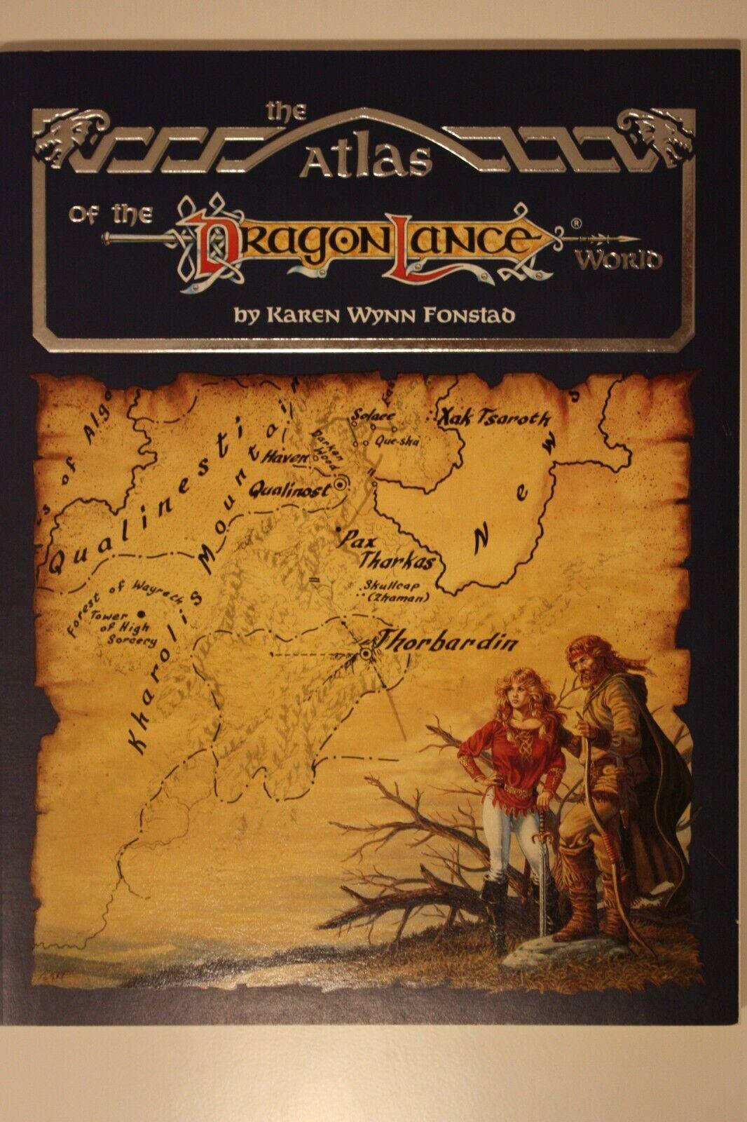 AD&D - Atlas of Dragonlance World - Karen Wynn Fonstad Fonstad Fonstad 67629d