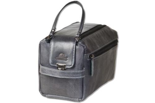 Woodland ® Grande cuir CULTURE sac en cuir naturel dans Anthracite