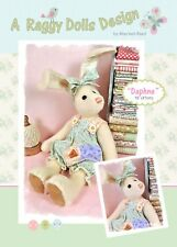 DAPHNE HARE - Sewing Craft PATTERN - Rabbit Cloth Doll Bear Shabby Chic Bunny