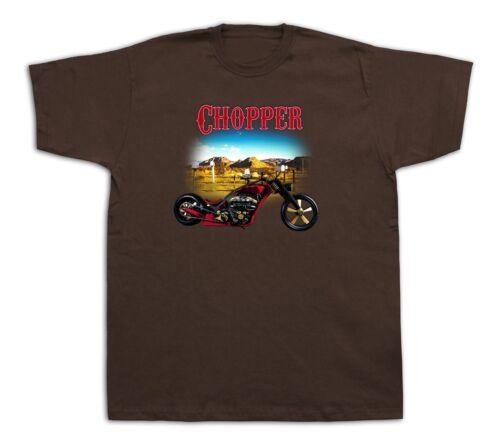 Motorcycle Chopper desert mail box Hot Rod Tshirts Bobber Custom Vintage Harley