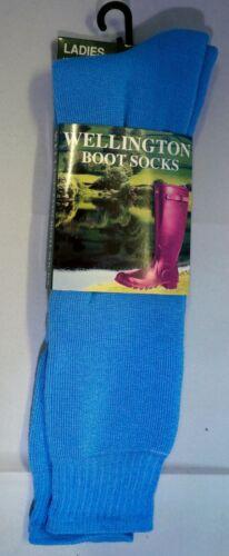 Royaume-Uni Taille 4-7 St Ann/'s Hospice Femmes Wellington Boot Chaussettes